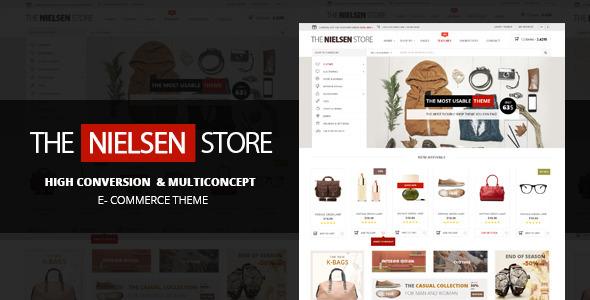 قالب فروشگاهی ووکامرس Nielsen