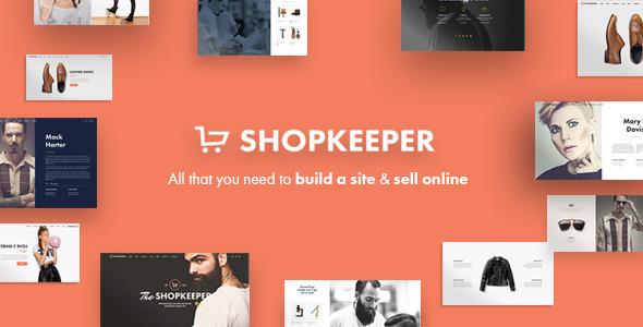 قالب چند منظوره وردپرس Shopkeeper