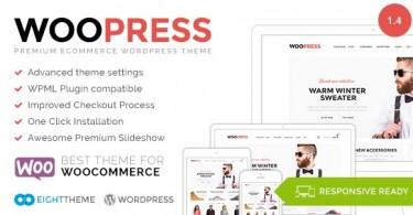 در قالب فروشگاهی وردپرس (ووکامرس) WooPress